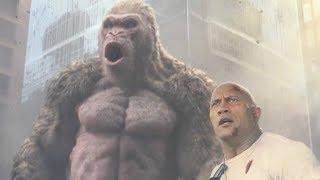 ロック様とホワイトコングの最強タッグも怯む巨獣が登場/映画『ランペイジ 巨獣大乱闘』特別映像2