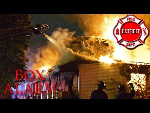 EVAC - Box Alarm - Detroit Fire, Wheeler St. & Central Ave., 11/01/2017