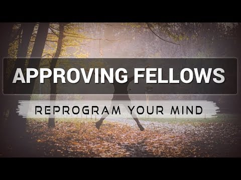 Approving Fellows affirmations mp3 music audio - Law of attraction - Hypnosis - Subliminal