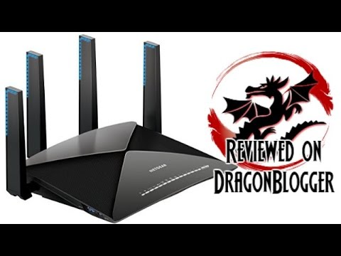 Netgear Nighthawk X10 AD7200 Router Review with GUI Overview