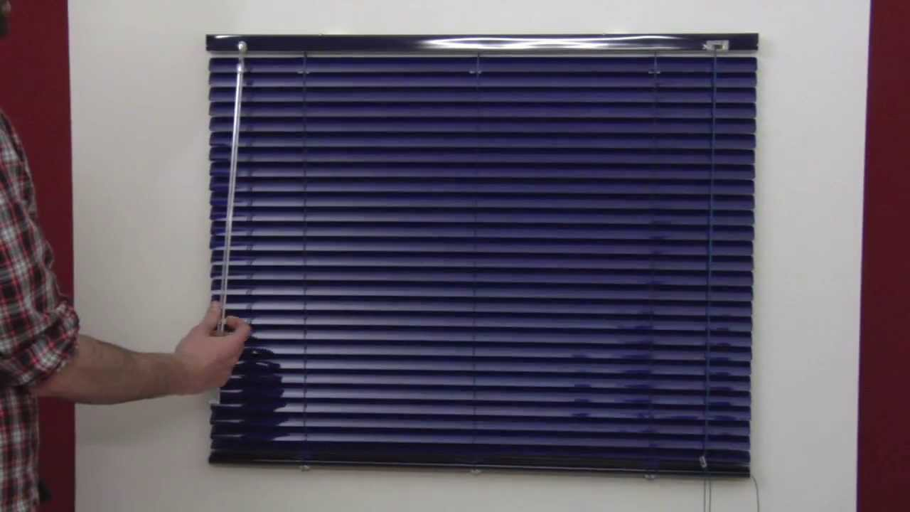 Montaje de Persiana Veneciana de Aluminio y PVC