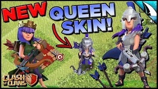 *NEW* Queen Skin - Gladiator - Gameplay | Clash of Clans
