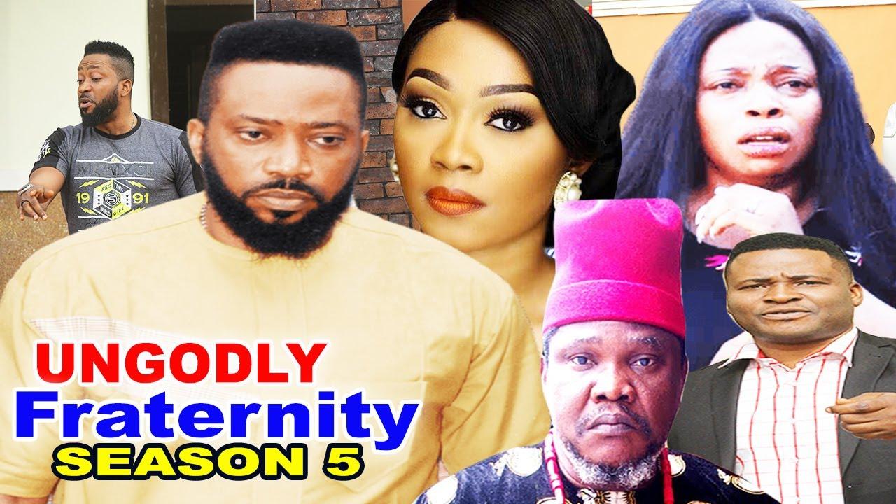 Download UNGODLY FRATERNITY SEASON 5-(Trending New Movie)Fredrick Leonard 2021 Latest Nigerian Movie Full HD