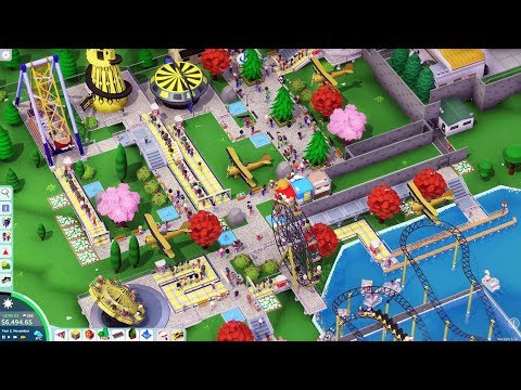 DGA Live-streams: Parkitect - Victoria Lake (Ep. 8 - Gameplay / Let's Play)
