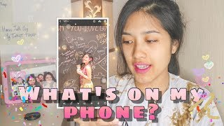 WHAT'S ON MY PHONE 2018 (INDONESIA)- THALENTA