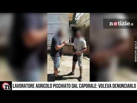 Lavoratore agricolo picchiato dal caporale: minacciava la denuncia perché sottopagato