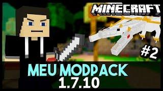 MINECRAFT: Meu Modpack 2# Pirata & Original (1.7.10)