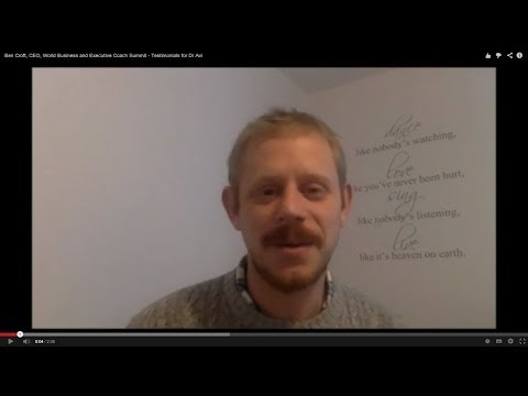 Ben Croft, CEO, World Business and Executive Coach Summit - Testimonials for Dr Avi