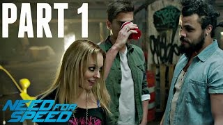 Need For Speed Walkthrough Part 1 - INTRO! (Ps4/Xbox One Gameplay 1080p HD)