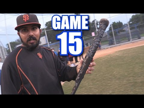 SWINGING A BURNT  BAT! | On-Season Softball League | Game 15