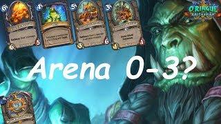 Hearthstone: Arena - Shaman (Xamã) 0-3? - Rastakhan's Rumble (O Ringue de Rastakhan)