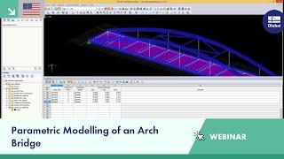 Dlubal Webinar: Parametric Modelling Of An Arch Bridge