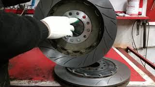 Обзор составных тормозных дисков 405 мм.