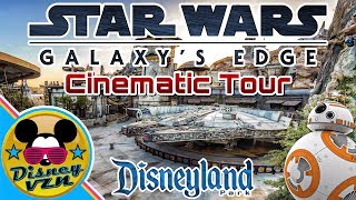 STAR WARS LAND GRAND TOUR! Watch this before going to Galaxy's Edge at Disneyland