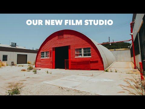 Our New Film & Photo Studio/Warehouse! The Barracks