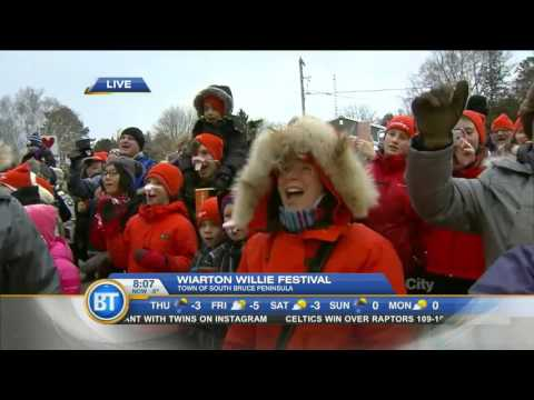 Winston in Wiarton for Groundhog Day! (Part 3 of 4)