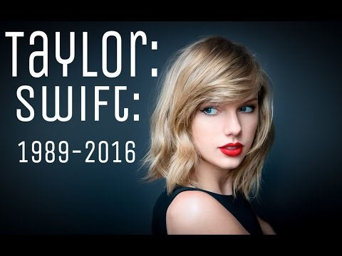 Taylor Swift Transformation Through the Years(1989-2016)