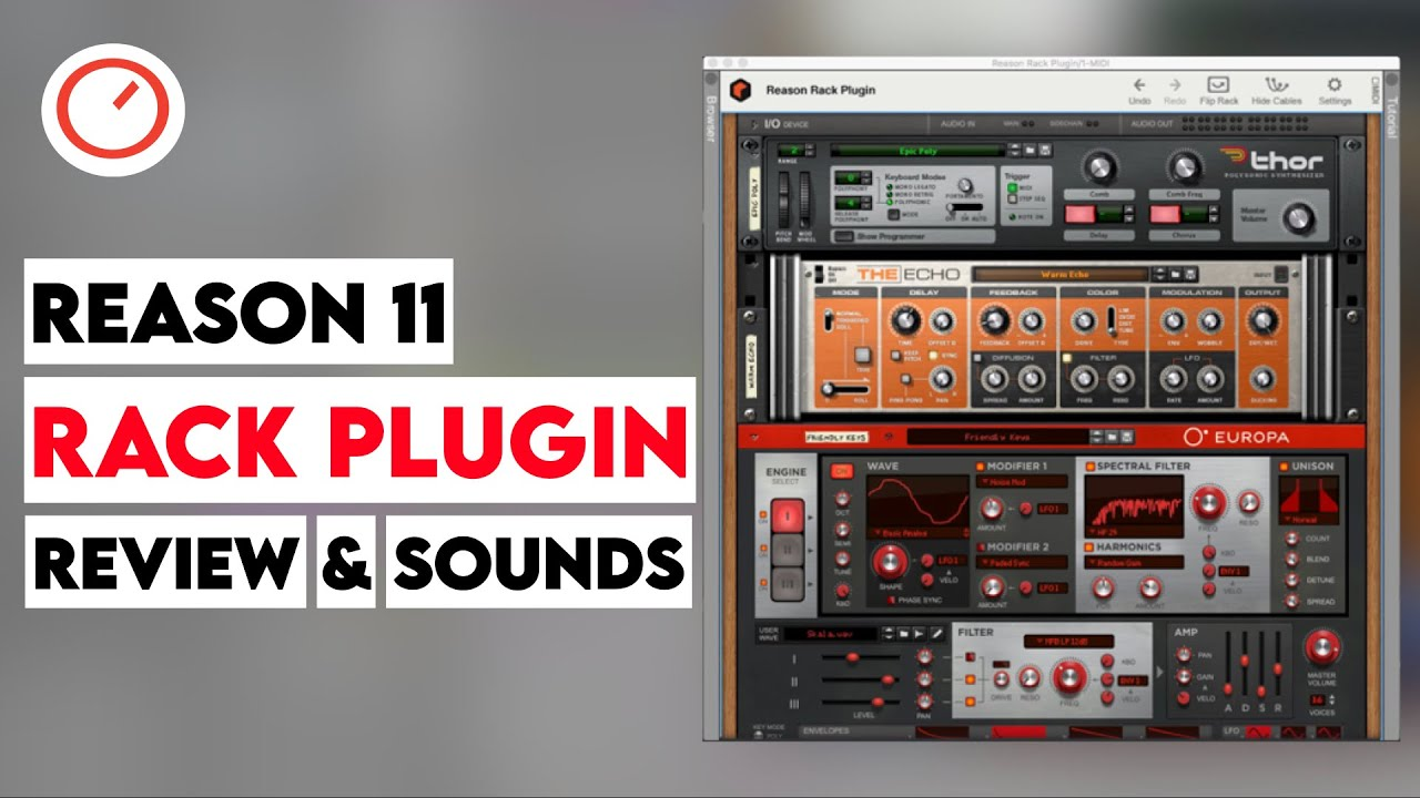 reason 11 rack plugin review best software of the year 2019 synth anatomy