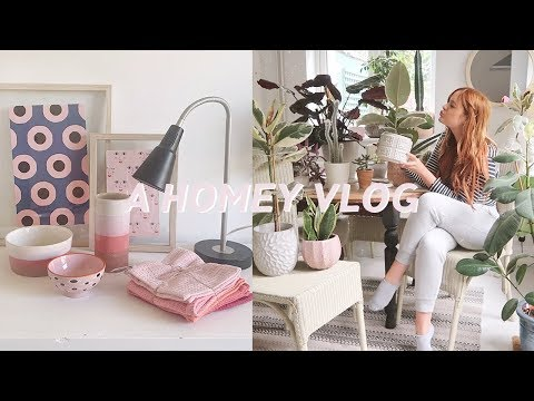 Ikea Haul, Plant Tour and Cleaning Vlog 🌱💖