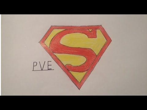 Superman Logosu Cizimi By Drawing Time