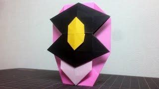 【パトレンジャーおりがみ】パトレン3号のおりかた 折り紙 明神つかさ 奥山かずさ Origami Mask 奥山かずさ 検索動画 14