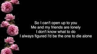 Matt Maeson • me and my friends are lonely (lyrics)