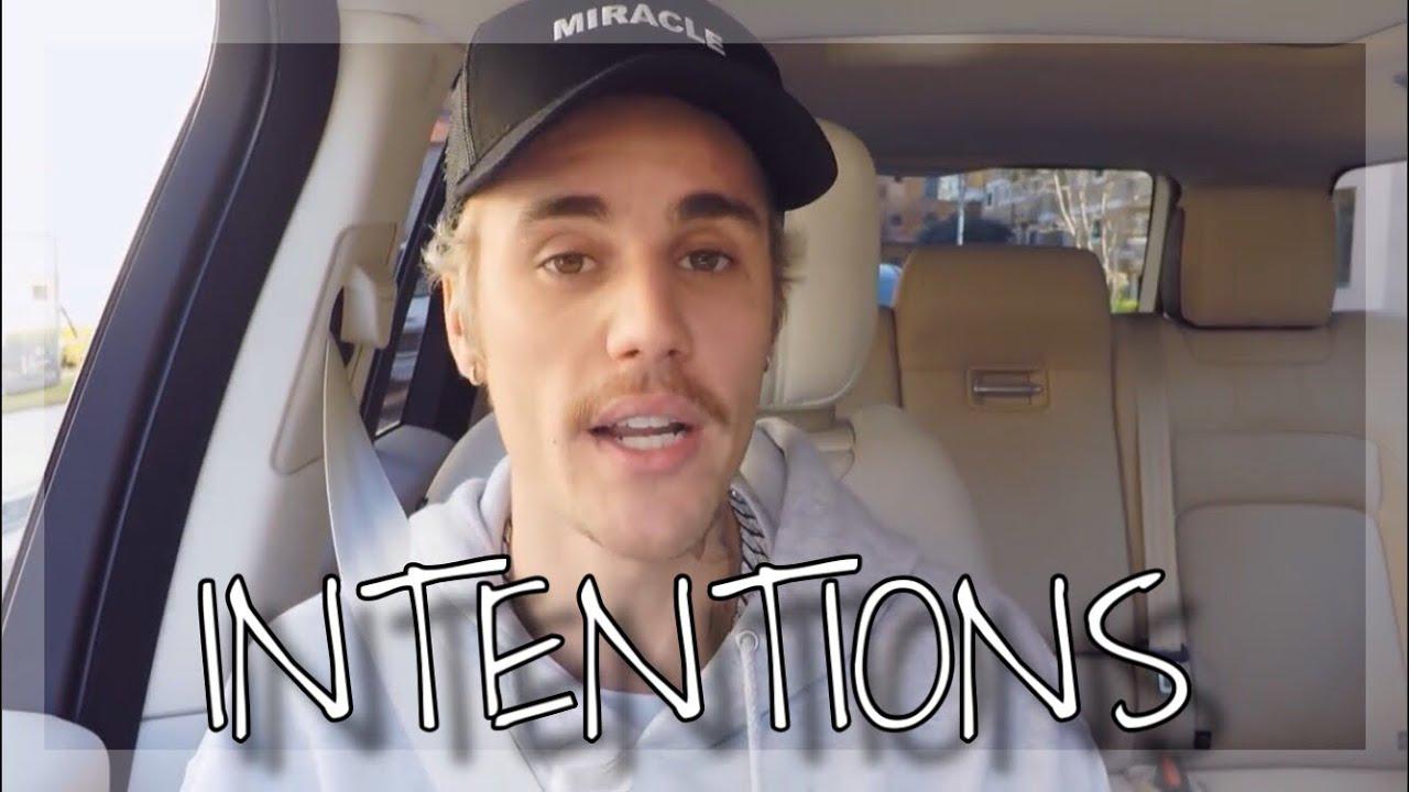 Justin Bieber - Intentions Live (Carpool Karaoke 2020)