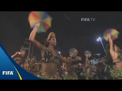 Frevo brings colour to Brazil's Carnival