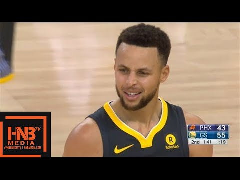 Golden State Warriors vs Phoenix Suns 1st Half Highlights / Feb 12 / 2017-18 NBA Season