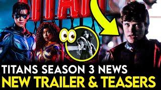 Titans Season 3 MAJOR Scenes Teased in NEW Trailer + Showrunner Interview Breakdown