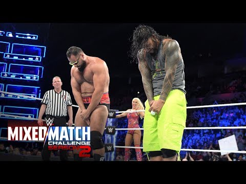 Jimmy Uso & Rusev channel Rikishi with mid-match dance-off: WWE Mixed Match Challenge, Oct. 2, 2018