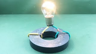 New  Free  Energy Generator with Magnet At home 2019