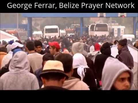 Muslim migrants flood into overwhelmed Europe