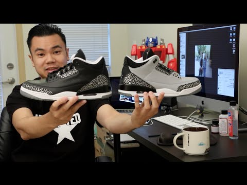 How to paint your shoes - Jordan Wolf Grey 3s w/ pictures ...
