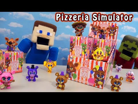 Five Nights at Freddy's Pizzeria Simulator Mystery Minis FUNKO Case Unboxing! thumbnail