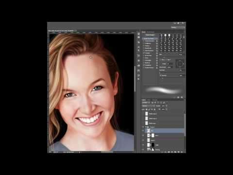 Kelley Jakle Digital Painting in Photoshop (Time-Lapse)
