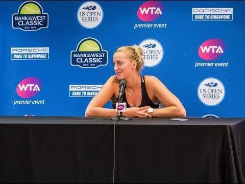 Petra Kvitova - Bank of the West tournament interview