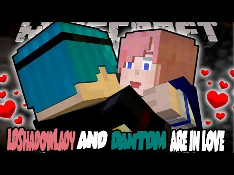 LDShadowLady AND DanTDM ARE IN LOVE!! - Minecraft: Story Mode Episode 8