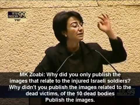 A Knesset member Is attacked by Zionist Israeli Knesset for telling the truth.