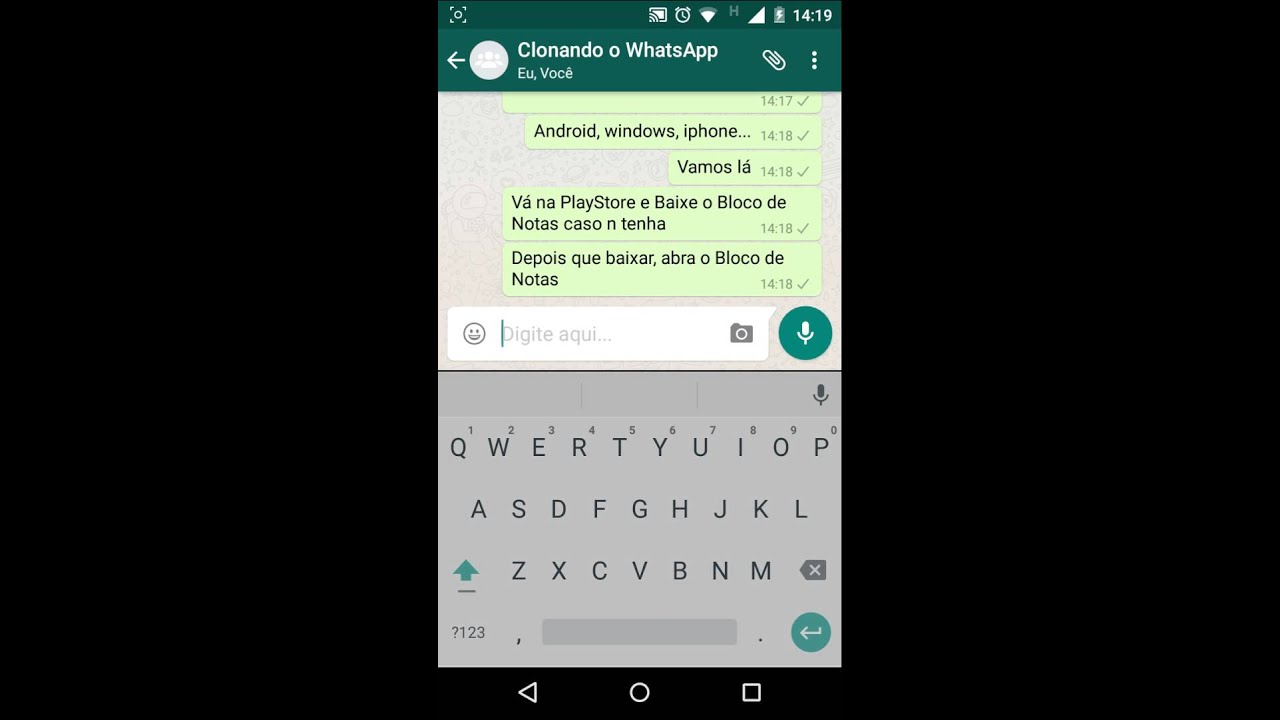 como clonar um whatsapp iphone