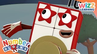 Numberblocks - NEW EPISODES! | Unlucky Thirteen | Learn to Count | Wizz Learning