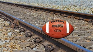 Train Vs Rugby Ball EXPERIMENT