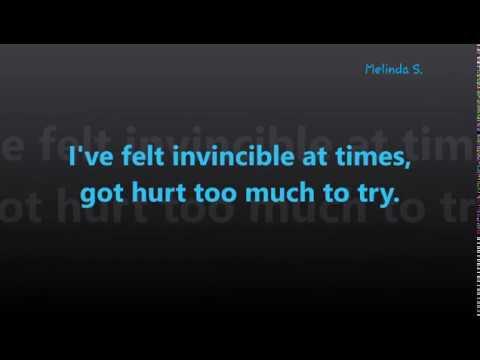 Unforgivable Lyrics!