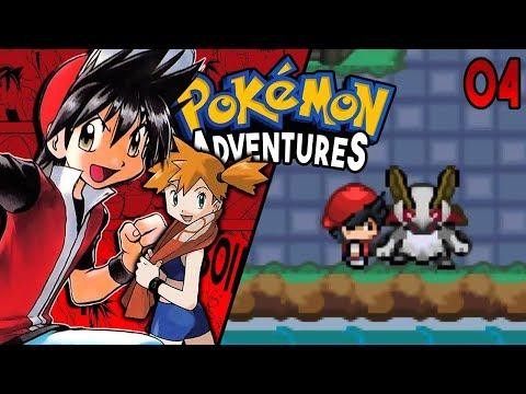 Pokemon Adventures Red Chapter Part 4 -  MONSTER IN CERULEAN Rom hack Gameplay Walkthrough