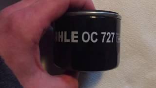 Масляный фильтр Mahle OC 727 Обзор