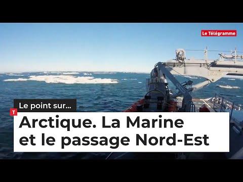 Arctique. La Marine franchit pour la première fois le passage du Nord-Est