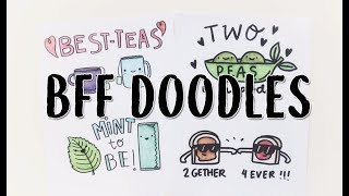 10 Best Friend Doodle Cards  (Puns and more!) | Doodles by Sarah