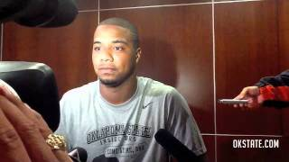 Tracy Moore Interview - #9 Oklahoma State vs. Louisiana