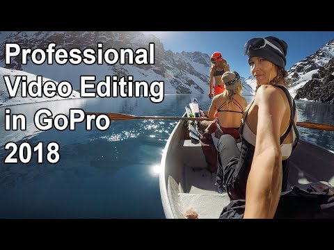How to Edit Video in GoPro Studio 2018 | GoPro Video editing 2018