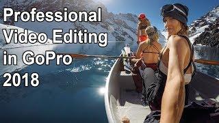 How to Edit Video in GoPro Studio 2018 | GoPro Video editing 2018
